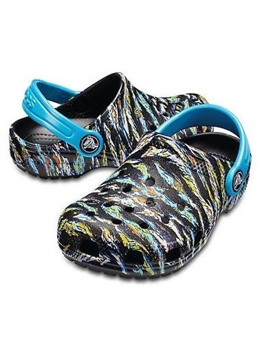 Crocs Classic Graphic Clog K Sandalet Cr0394-001 Renkli